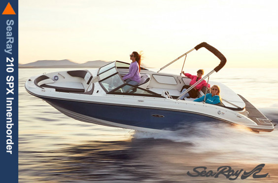 Favoriten SeaRay 210 SPX Innenborder + MerCruiser 4.5L SeaRay 210 SPX Innenborder + MerCruiser 4.5L
